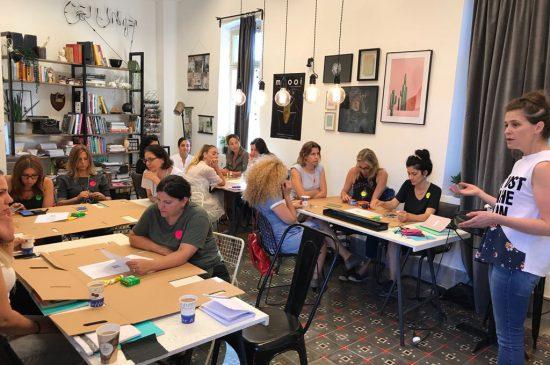 קבוצות למידה בקורס הום סטיילינג