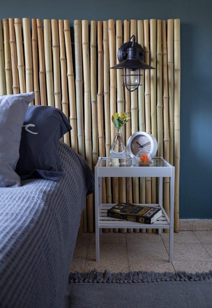 ראש מיטה מעוצב מבמבוק